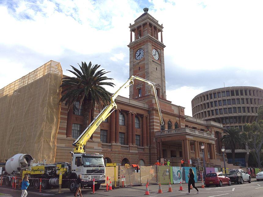 Restoration of City Hall