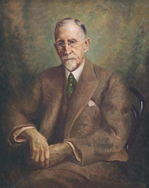 Jerrold NATHAN 'Portrait of Dr Roland Pope' 1944 oil on canvas Purchased 1946 Newcastle Art Gallery collection